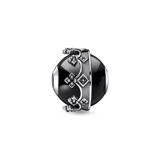 Bead Krone schwarz aus der Karma Beads Kollektion im Online Shop von THOMAS SABO