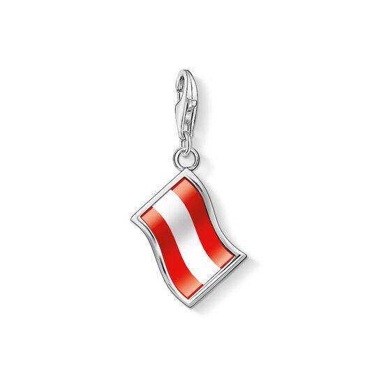 Charm pendant flag Austria from the Charm Club collection in the THOMAS SABO online store