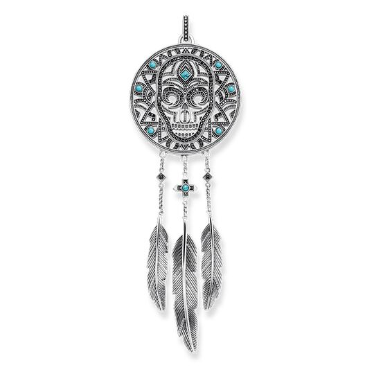 pendant ethno dreamcatcher skull from the Rebel at heart collection in the THOMAS SABO online store