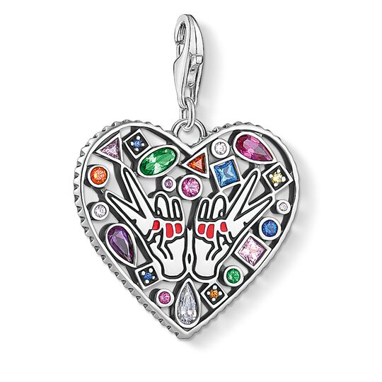 Charm pendant love from the Charm Club collection in the THOMAS SABO online store