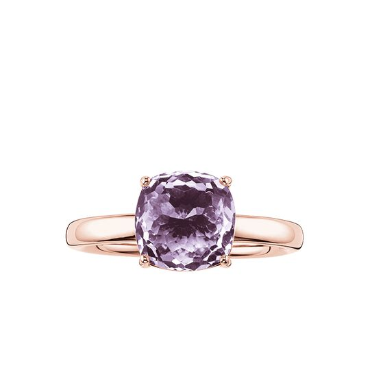 solitaire violet de la collection Glam & Soul dans la boutique en ligne de THOMAS SABO