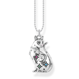 collana Gatto con costellazione argento from the Glam & Soul collection in the THOMAS SABO online store