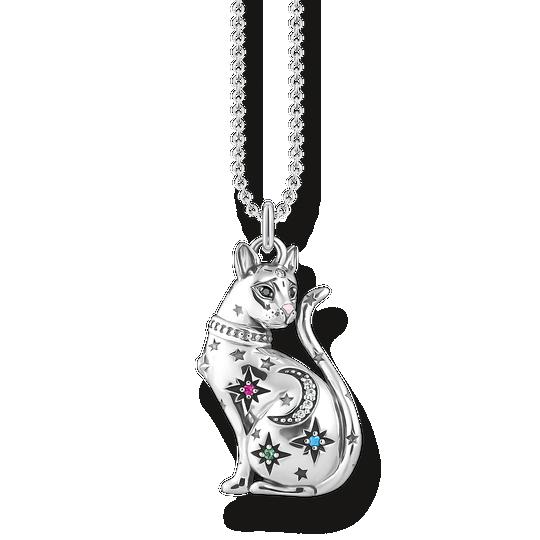 Kette Katze Sternenbild silber aus der Glam & Soul Kollektion im Online Shop von THOMAS SABO