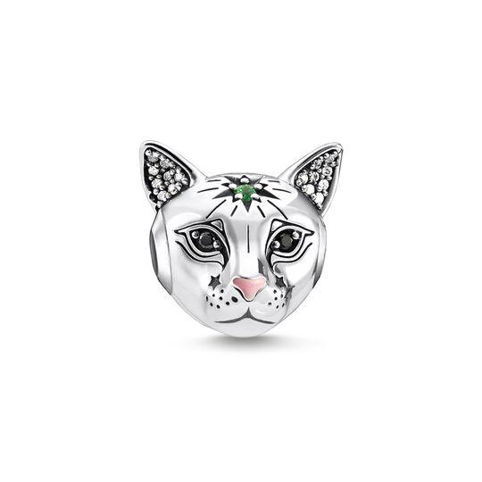 Bead chat argent de la collection Karma Beads dans la boutique en ligne de THOMAS SABO