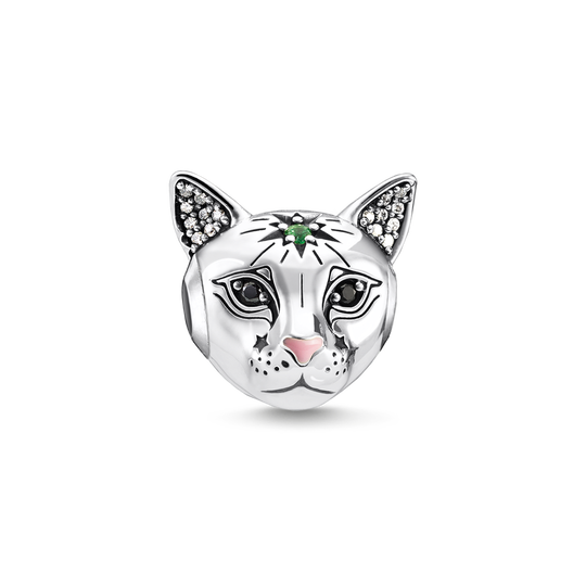 Bead Katze silber aus der Karma Beads Kollektion im Online Shop von THOMAS SABO