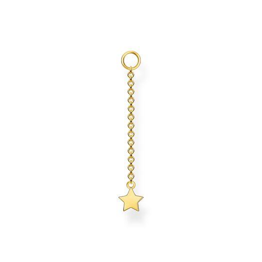 Colgante para pendiente estrella oro de la colección Charming Collection en la tienda online de THOMAS SABO
