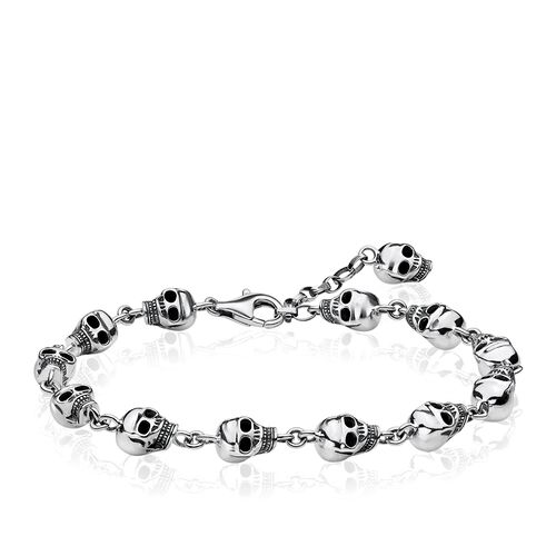 """bracelet """"skulls"""" from the Rebel at heart collection in the THOMAS SABO online store"""