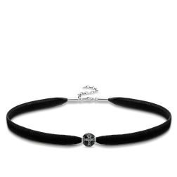 "Choker ""Royalty Black"" from the Glam & Soul collection in the THOMAS SABO online store"