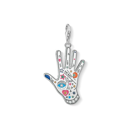 Charm pendant Vintage hand from the Charm Club collection in the THOMAS SABO online store