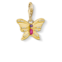 charm pendant butterfly gold from the Charm Club Collection collection in the THOMAS SABO online store