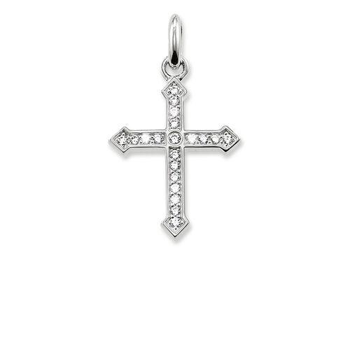 """pendentif """"croix avec pavé"""" de la collection Karma Beads dans la boutique en ligne de THOMAS SABO"""