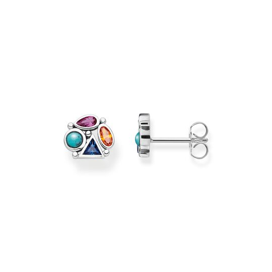 ear studs colourful stones from the  collection in the THOMAS SABO online store