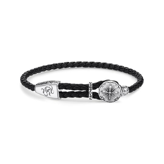leather strap compass from the  collection in the THOMAS SABO online store