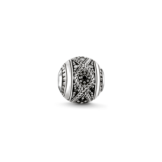 Bead Love Knot black from the Karma Beads collection in the THOMAS SABO online store