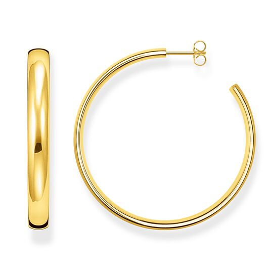hoop earrings classic large from the Glam & Soul collection in the THOMAS SABO online store