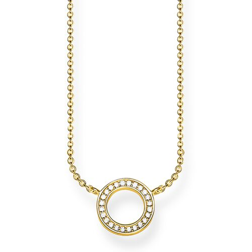 """necklace """"Circle Small"""" from the Glam & Soul collection in the THOMAS SABO online store"""