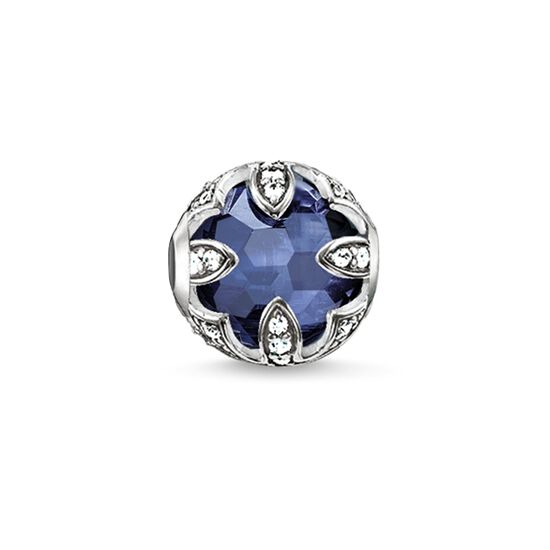 "Bead ""dark-blue lotus"" from the Karma Beads collection in the THOMAS SABO online store"