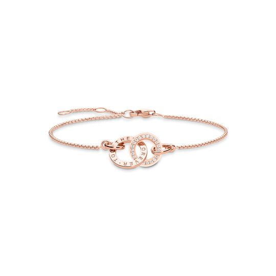 Bracelet Forever Together rose gold from the Glam & Soul collection in the THOMAS SABO online store