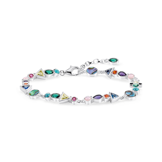 bracelet colourful stones from the Glam & Soul collection in the THOMAS SABO online store