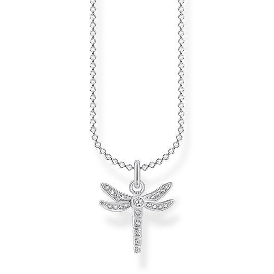 Kette Libelle silber aus der Charming Collection Kollektion im Online Shop von THOMAS SABO