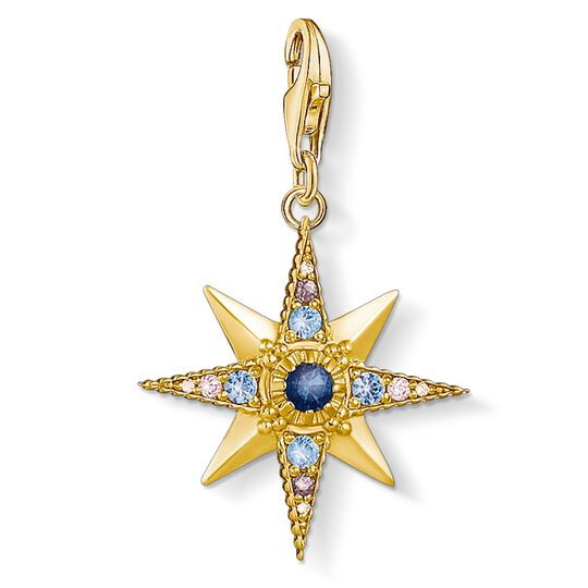 Charm pendant Royalty Star from the Charm Club collection in the THOMAS SABO online store