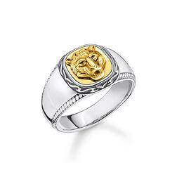 Ring Tiger gold aus der Rebel at heart Kollektion im Online Shop von THOMAS SABO