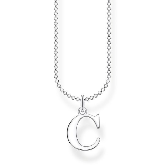 Necklace letter C from the Charming Collection collection in the THOMAS SABO online store