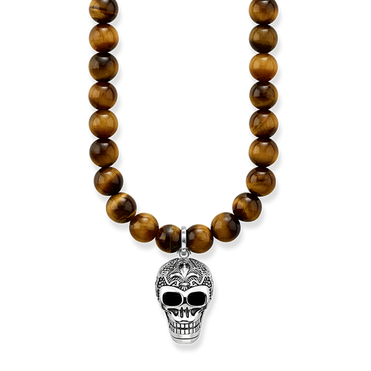 necklace Maori skull from the Rebel at heart collection in the THOMAS SABO online store