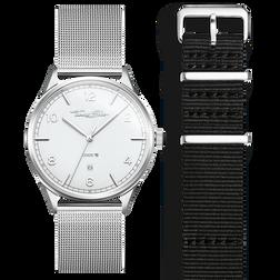 SET CODE TS montre blanche et bracelet noir de la collection  dans la boutique en ligne de THOMAS SABO