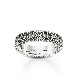 "ring ""ethno ornamentation"" from the Glam & Soul collection in the THOMAS SABO online store"