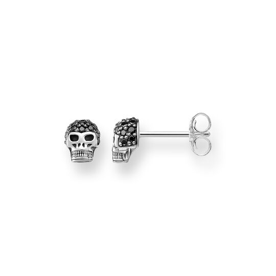 """ear studs """"skull"""" from the Rebel at heart collection in the THOMAS SABO online store"""