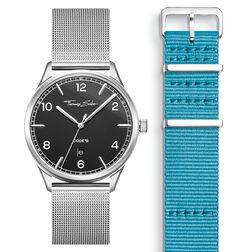 SET CODE TS Reloj negro & correa turquesa de la colección  en la tienda online de THOMAS SABO