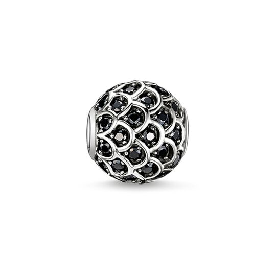 Bead black fish from the Karma Beads collection in the THOMAS SABO online store