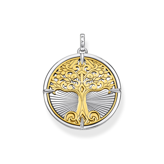 Anhänger Tree of Love gold aus der Rebel at heart Kollektion im Online Shop von THOMAS SABO