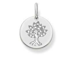 """pendant """"tree disc"""" from the Love Bridge collection in the THOMAS SABO online store"""