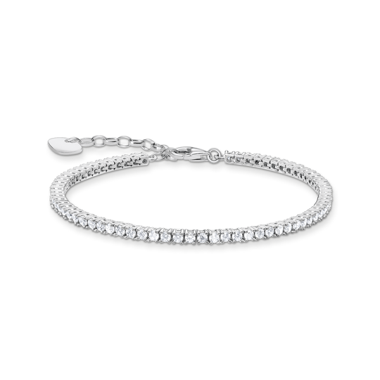 Tennis bracelet silver from the Glam & Soul collection in the THOMAS SABO online store