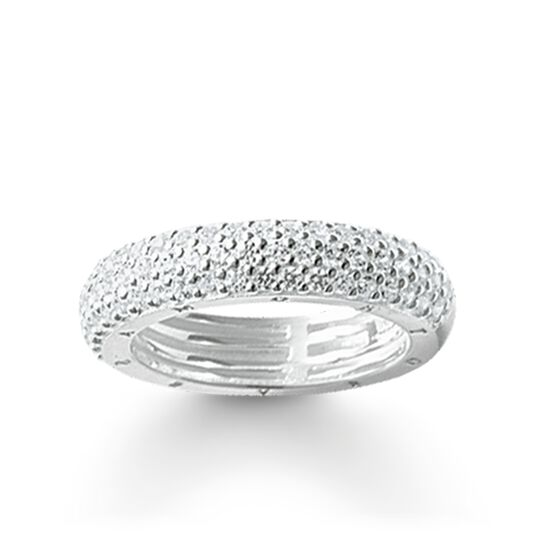 """eternity ring """"white pavé"""" from the Glam & Soul collection in the THOMAS SABO online store"""
