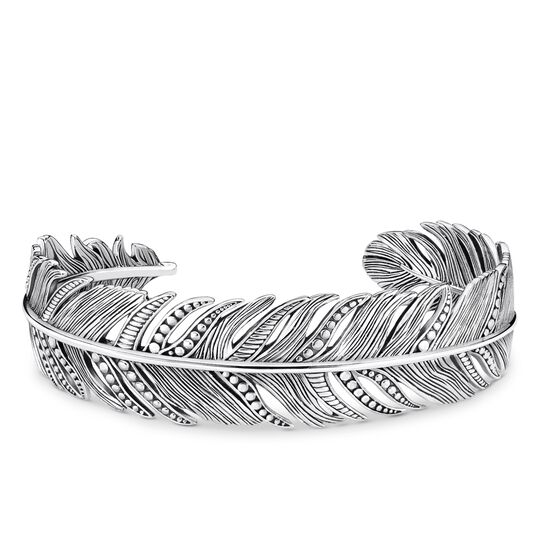 Armreif Feder aus der Rebel at heart Kollektion im Online Shop von THOMAS SABO