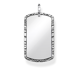 "pendentif ""dog tag"" de la collection Rebel at heart dans la boutique en ligne de THOMAS SABO"