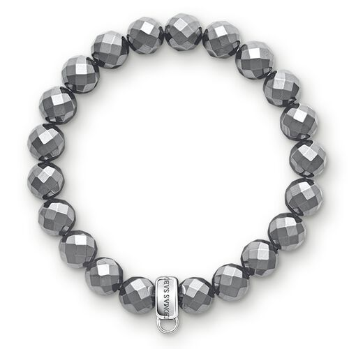"""Charm bracelet """"haematite"""" from the  collection in the THOMAS SABO online store"""