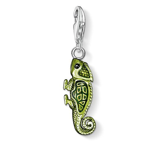 Charm pendant chameleon from the Charm Club collection in the THOMAS SABO online store