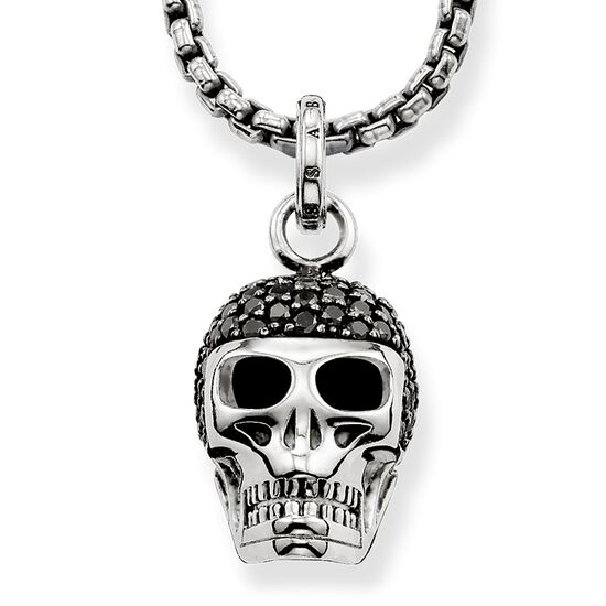 Necklace diamond skull jke0028 men thomas sabo great britain necklace from the rebel at heart collection in the thomas sabo online store mozeypictures Image collections