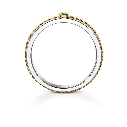 "eternity ring ""rope"" from the Rebel at heart collection in the THOMAS SABO online store"