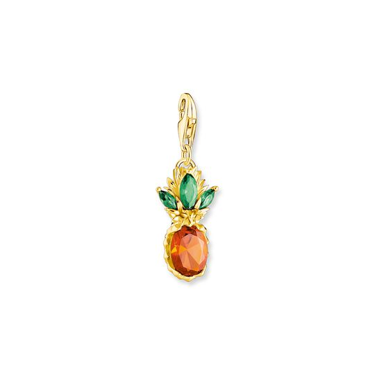 Charm pendant pineapple gold from the Charm Club collection in the THOMAS SABO online store