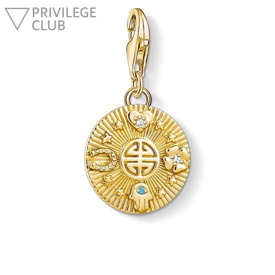"""Charm-Anhänger """"Glücks-Coin"""" aus der  Kollektion im Online Shop von THOMAS SABO"""