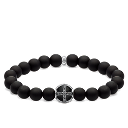 bracelet Cross black from the Glam & Soul collection in the THOMAS SABO online store