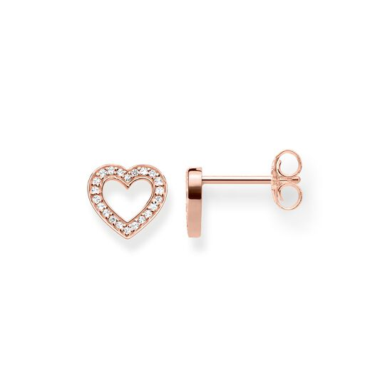 "ear studs ""Heart Large"" from the Glam & Soul collection in the THOMAS SABO online store"
