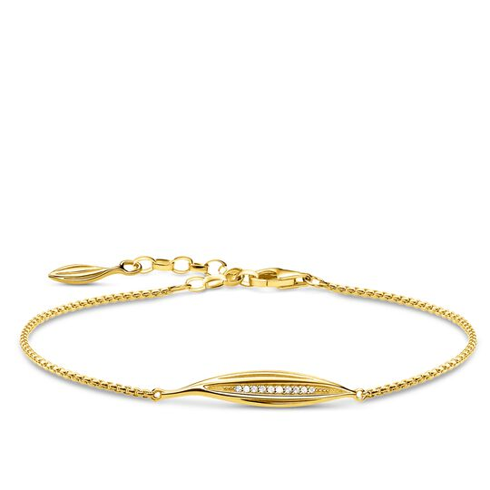 bracelet leaf gold from the Glam & Soul collection in the THOMAS SABO online store
