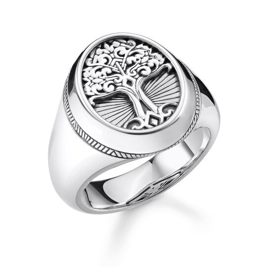 "ring ""Tree of Love"" from the Rebel at heart collection in the THOMAS SABO online store"