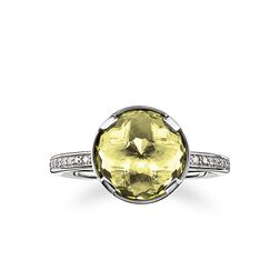 "solitaire ring ""heart chakra"" from the Chakras collection in the THOMAS SABO online store"